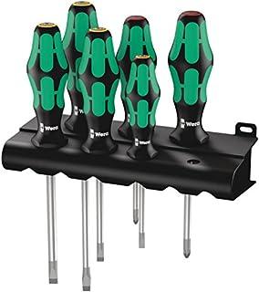 Wera Kraftform Plus 334/6 Screwdriver Set with Rack and Lasertip, 6-Pieces (B0001NQQCM) | Amazon Products