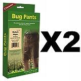 Coghlan's Bug Pants Medium Black Unisex Flame Retardant Mosquito Net (2-Pack)