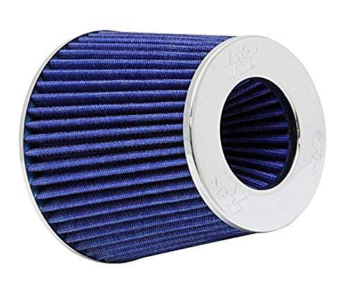 K&N Filters RG-1001BL-L Auto en Motorfiets Universele Filter, Chroom