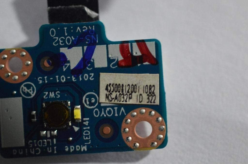 New Replacement for Lenovo Y400 Y410 Y410P Power Switch Board NS-A032 LS-8691P