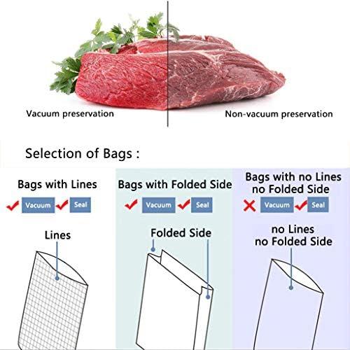 Household cibo universale di vuoto di tenuta della macchina, secco/umido modo Alimenti, 340mm di tenuta Lunghezza, libero 15 sacchetti di plastica