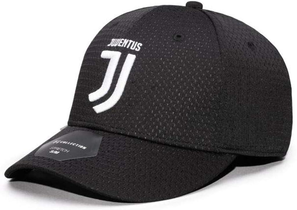 Black Stretch Baseball Hat Juventus Fi Collection