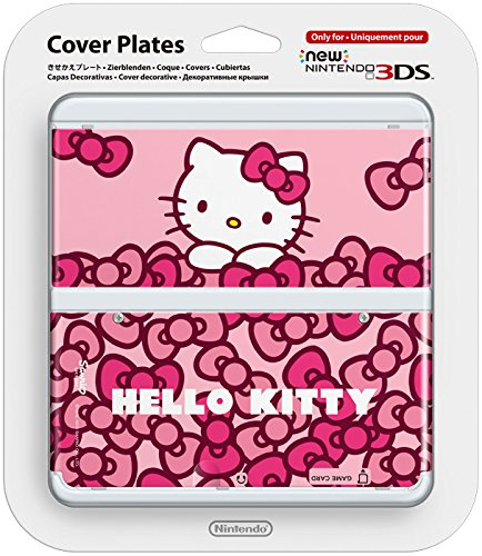 Amazon.com: Nintendo New 3DS Cover Plate - Pink Check ...
