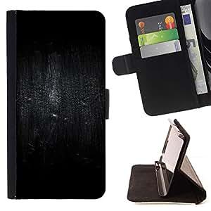 Momo Phone Case / Flip Funda de Cuero Case Cover - Pájaro Oscuridad Lluvia Profundo - Samsung Galaxy J3 GSM-J300