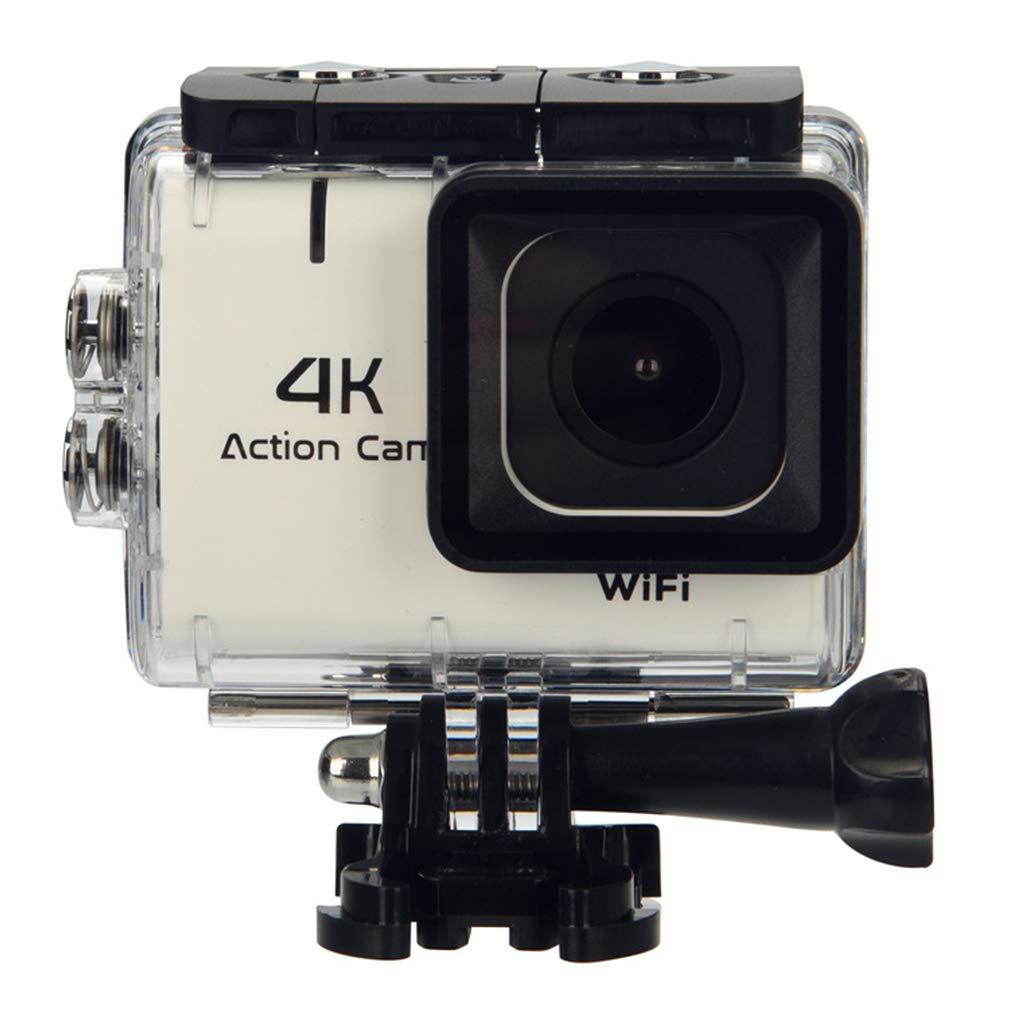 Coco M22 4K WiFiスポーツカメラ - タッチウルトラHD防水DVカメラ-12MP - 170度広角と大口径 - バッテリーとすべての付属品 B07KQ71LZT white white