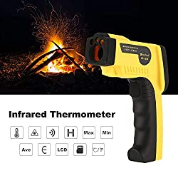 HoldPeak HP-1300 Digital LCD Handheld Infrared Thermometer Temperature Meter Tester Red Laser Non Contact IR Pyrometer Gun