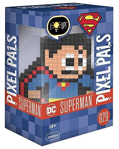 Recognizable Movie Costumes (PDP Pixel Pals DC Comics Superman Collectible Lighted Figure,)
