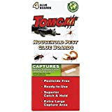 Tomcat Household Pest Glue Boards, 4-Pack (For Roaches, Insects, Scorpions, and Spiders)