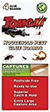 Tomcat Household Pest Glue Boards - 4 Boards | Captures Ants, Spiders, Roaches, Scorpions & Other Unwanted Insect Pests | Pesticide-Free, Superior Catch & Hold, Extra Large Capture Area