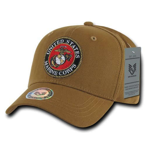Rapiddominance Marines Back to The Basics Cap, Coyote ()