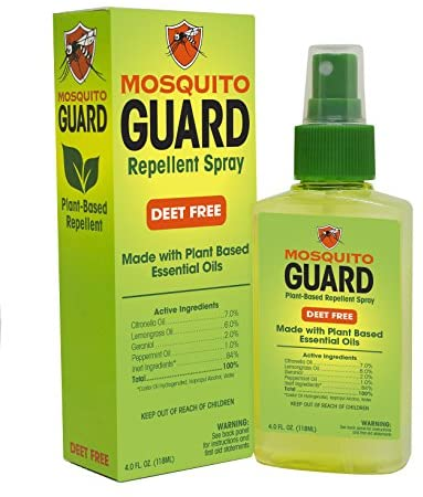 Mosquito Guard Repellent Natural Ingredients product image