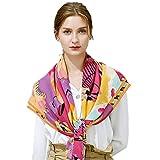 Women's Fashion Luxury Pure Wool Winter Scarves Printing Wraps Bandana(120cmx120cm),3#