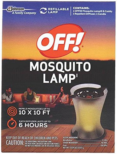 - S C Johnson Off Mosquito Lamp ,pack of 4