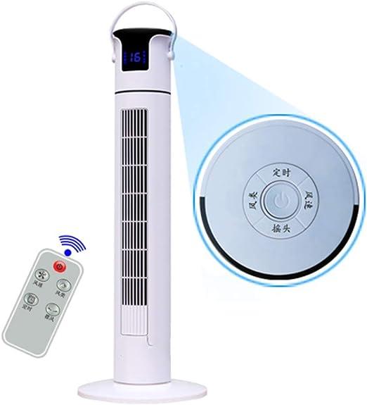 CJF Ventilador de Torre oscilante, con Pantalla táctil, Control Remoto, Temporizador programable de 12 Horas Ventilador portátil, para Dormitorio, Oficina,Conventional,Remote: Amazon.es: Hogar