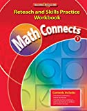 img - for Math Connects, Grade 1, Reteach and Skills Practice Workbook (ELEMENTARY MATH CONNECTS) book / textbook / text book
