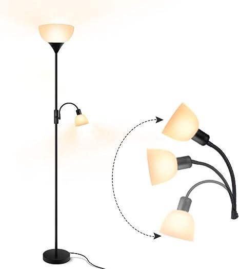 Energy Saving Dimmable Adjustable Reading Pole Lamp Floor Lamp
