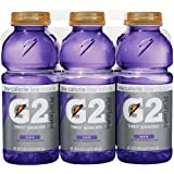 Gatorade G2 Sports Drink, Grape, Low Calorie, 20-Ounce Bottles (Pack of 12)