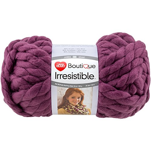Red Heart Irresistible E848.7925 Yarn, Berry