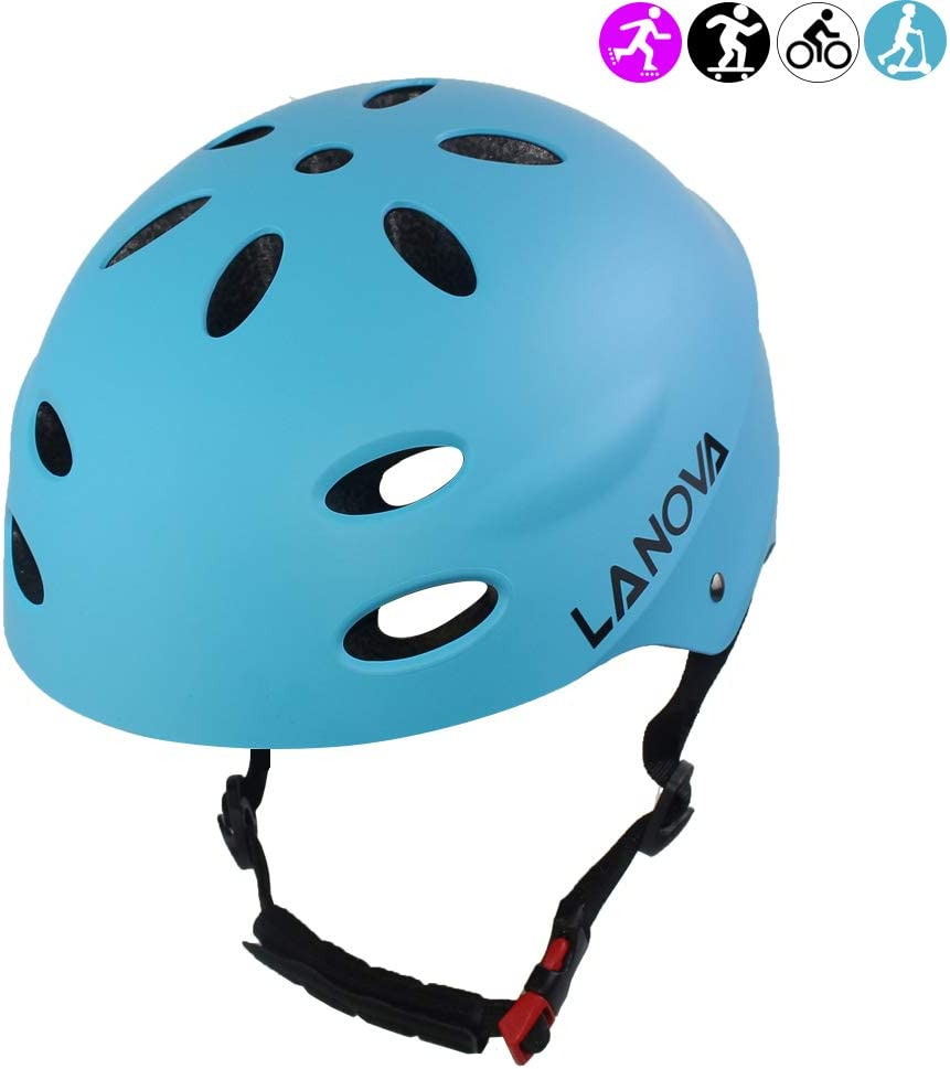 Kids Bike Helmet CPSC Certified Impact Resistance Ventilation for Bicycle Cycling Skateboarding Scooter Roller Skate Inline Rollerblading Longboard