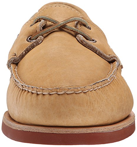Tan Sebago Mens Crest