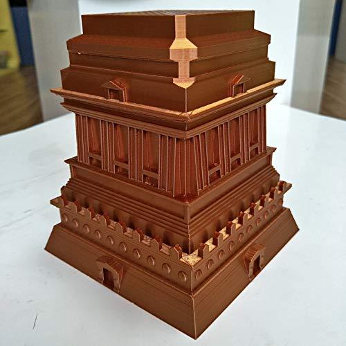 Filamento para impresora 3D de 1,75 mm, filamento PLA de seda ...