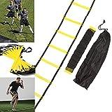 FidgetFidget Training With Bag 9-Rung Agility Ladder for Speed Soccer Football Fitness Feet