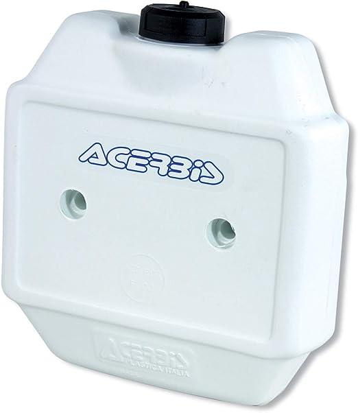 Acerbis 0002685.030 Deposito di combustibile anteriore ausiliare bianco