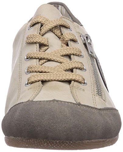de Staub Blanco deportiva Offwhite L9044 material sintético mujer zapatilla Staub 42 Rieker t8wO0O