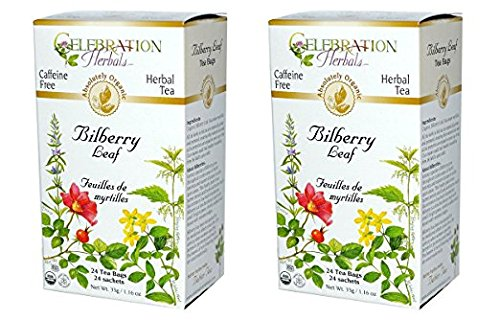 Celebration Herbals Teabags Bilberry Organic