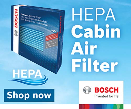 Cabin Air Filter-HEPA Cabin Filter Bosch 6031C