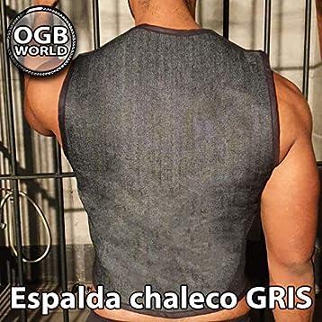 OGBWorld ARNÉS DE PECHO HOMBRE CHALECO Diseño en V - Espalda talla ...