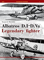 Albatros D.I-D.Va Legendary Fighter (Legends of Aviation 6005) (Famous Airplanes)