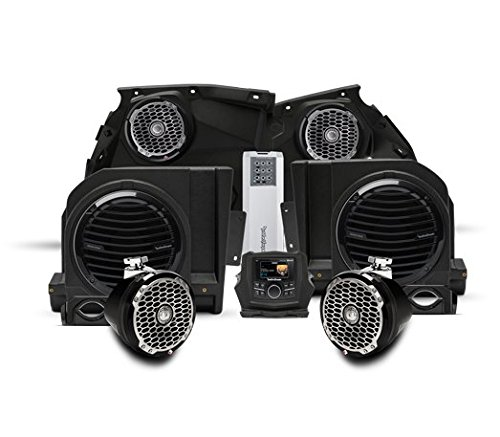 Rockford Fosgate X3-Stage5 1000 watt stereo, front speaker, subwoofer, & rear speaker kit for select Maverick X3 models