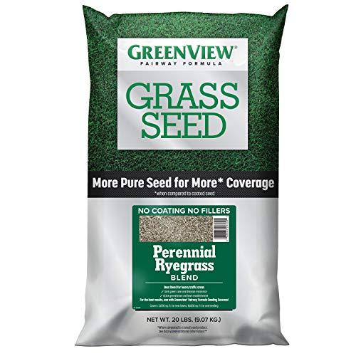 GreenView 2829355 Fairway Formula Grass Seed Perennial Ryegrass Blend, 20 lb.