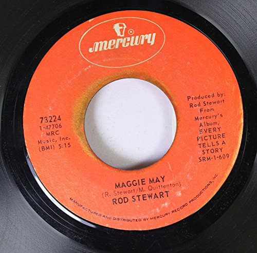 Rpm Rod (Rod Stewart 45 RPM Maggie May / Reason to Believe)