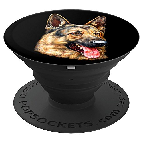Cute Shepherds German (Cute German Shepherd Dog Breed - PopSockets Grip and Stand for Phones and Tablets)