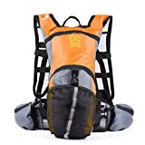 Tofern Waterproof Outdoor Backpack Shouder Bag Cycling Riding Bag Sports Bag Tripping Travelling Bag 2.5L Water Bag Given