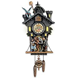 Bradford Exchange The All In Good Time, My Little Pretty Cuckoo Clock With Barking Toto