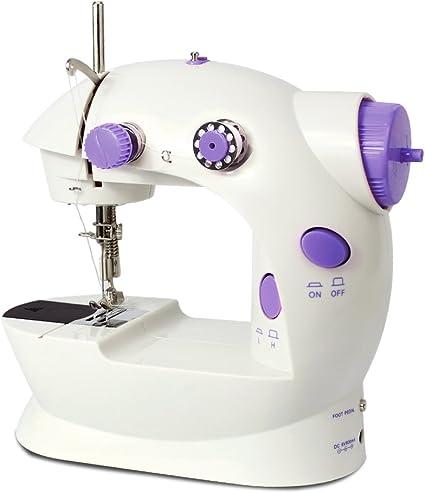 Imax FHSM-202 Mini máquina de coser de 2 velocidades con pedal de ...