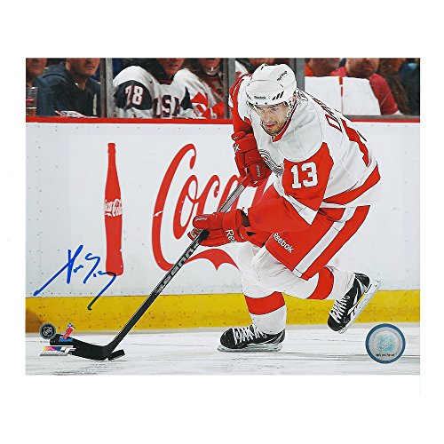 Pavel Datsyuk Detroit Red Wings Autographed 8 x 10