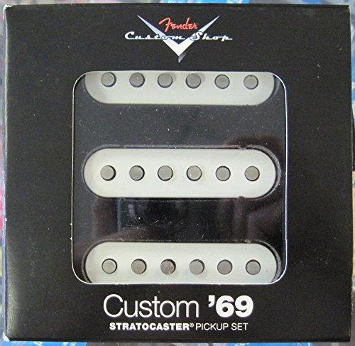 Fender フェンダー CS Custom Shop '69 Strat SET of 3 ストラトキャスターギター用ピックアップ 『並行輸入品』   B075LKVN9M