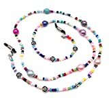 Beaded Eyeglass Chain Sunglasses Holder Strap Eyewear Retainer Lanyard