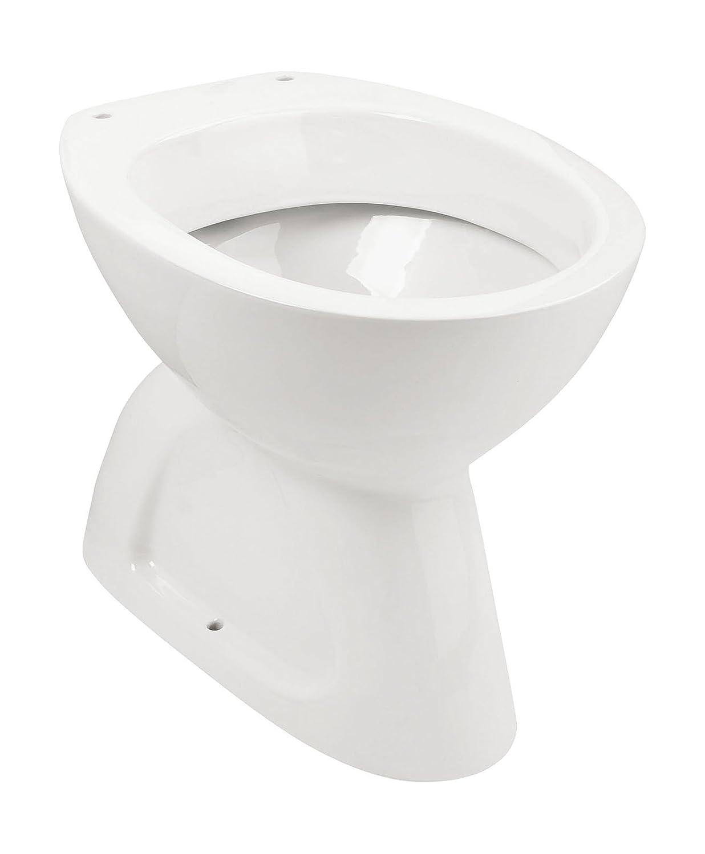 Innovativ Stand-WC | Tiefspüler | Abgang innen senkrecht | Weiß | Keramik  DR98