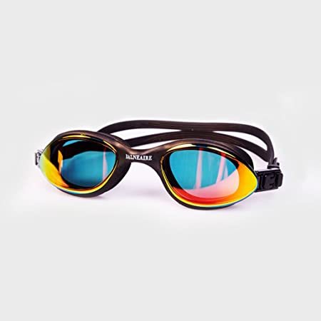 bd4be1e5f54c William 337 New Swimming Glasses anti-fog and waterproof goggles HD swimming  goggles (Color   BLACK)  Amazon.co.uk  Kitchen   Home