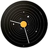 Bai Expose Aluminum Wall Clock, Solar System