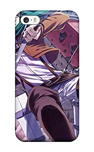 New Style Tpu 5/5s Protective Case Cover/ Iphone Case - Attack On Titan