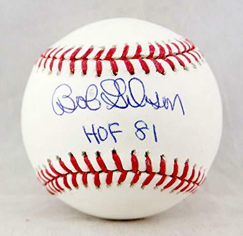 Bob Gibson Signed Ball - Rawlings OML w HOF 81 W Auth - JSA Certified - Autographed Baseballs