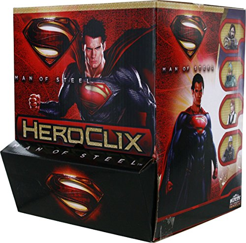 Man of Steel Heroclix Blind Bag Countertop Display (24 Packs) - Noble Mini Blind