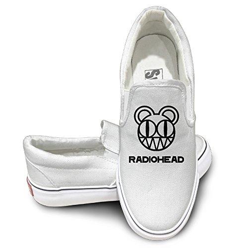 TAYC Radiohead Non-slip Canvas Shoes White