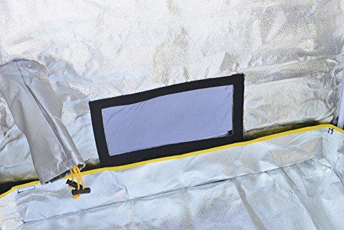 "51Fbzc7qibL - Grow Tent,Smart 35""x 20""x 62"" Horticulture D-Door Reflective Mylar Hydroponics Indoor Grow Tent Non Toxic Grow Room for Early Seedling Starters 3'x6'"